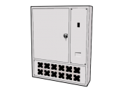Wall-mounted Low Voltage Power Supply Panel